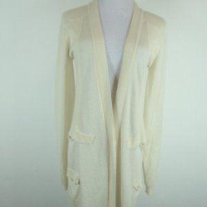 Calvin Klein Collection cashmere cardigan coat S